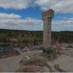 Sloop zilvermijn in Garpenberg Zweden